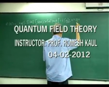 Quantum Field Theory 2012 Lecture 2